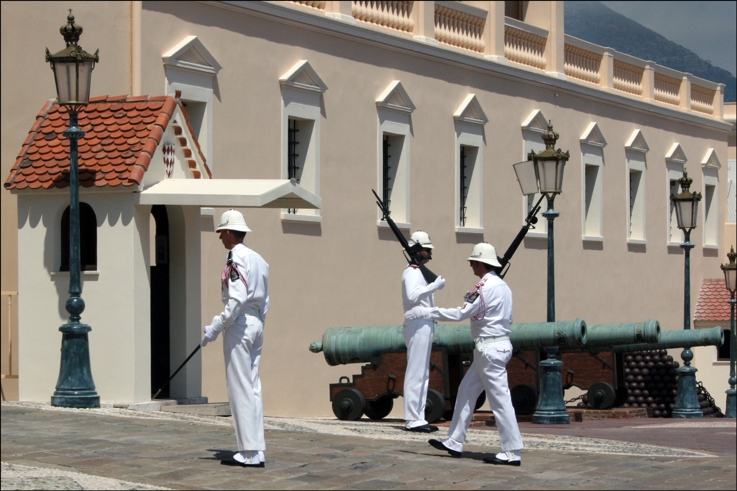 The Changing of the Guard in Monaco