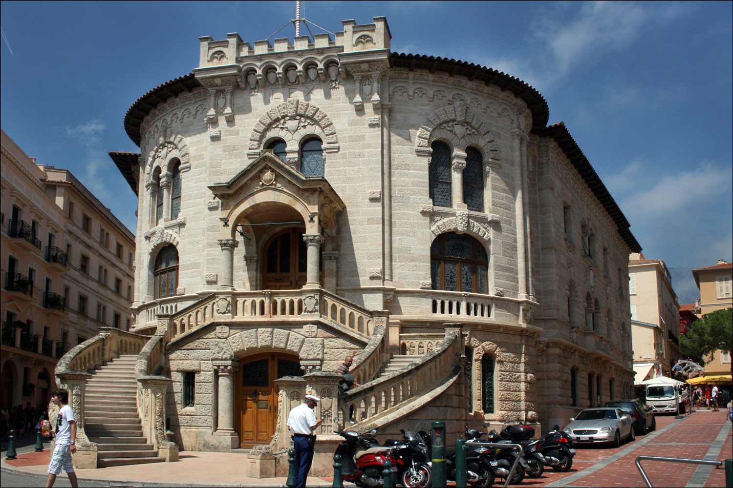 The Monaco Courthouse
