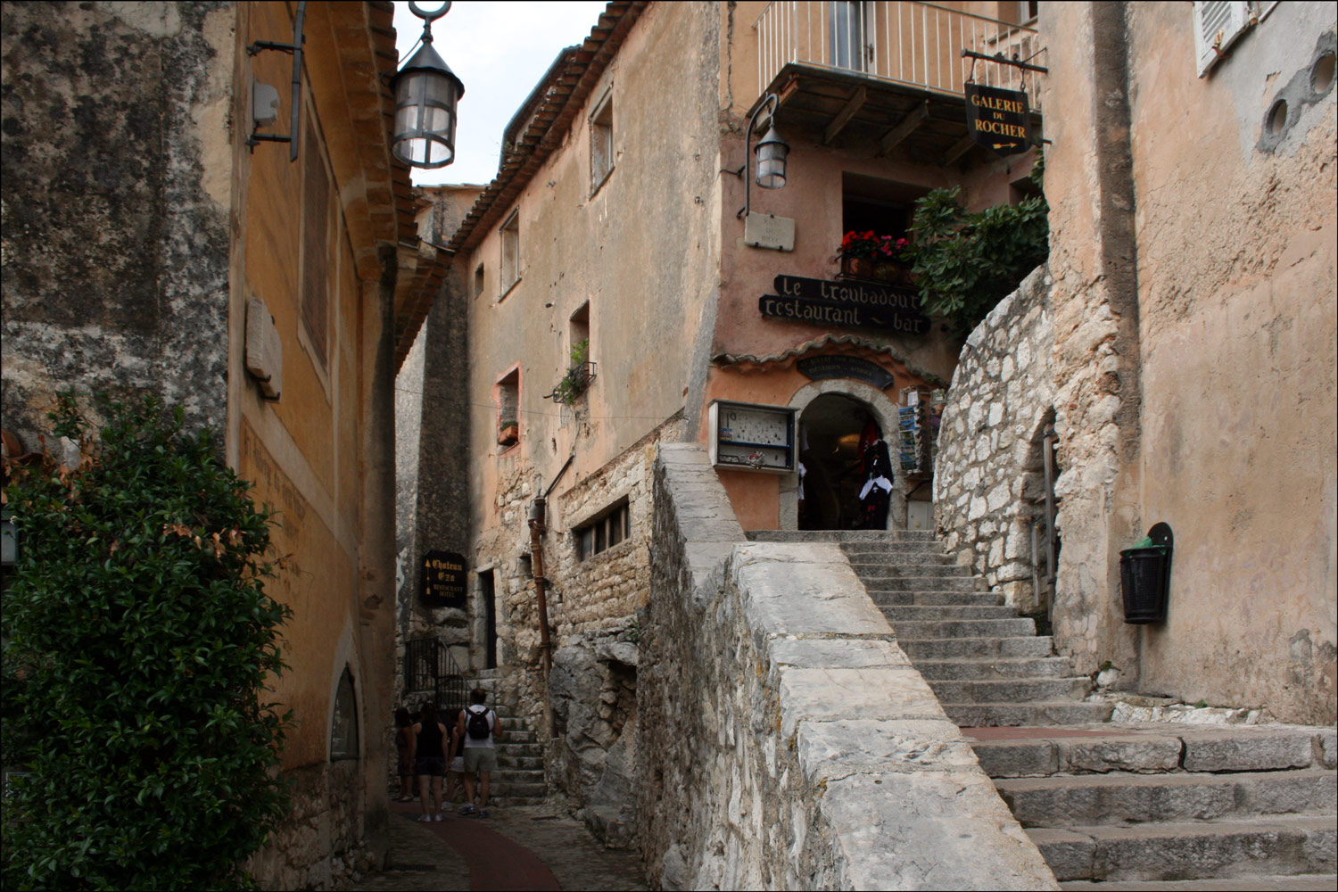 The Streets of Èze