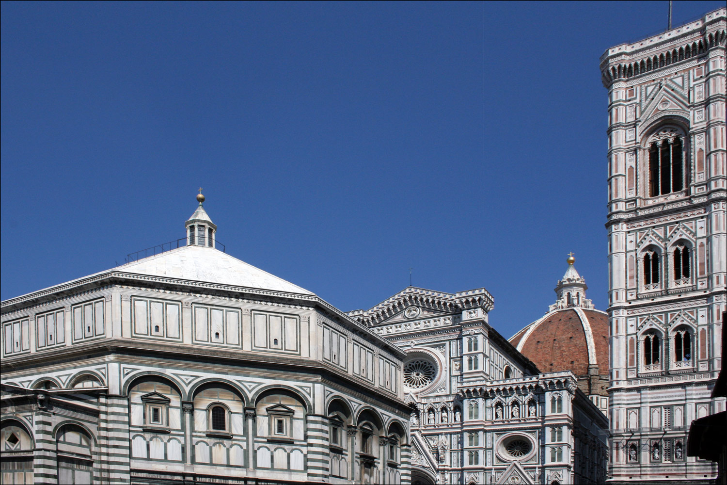 The Duomo, the Baptistry, and the Campanile