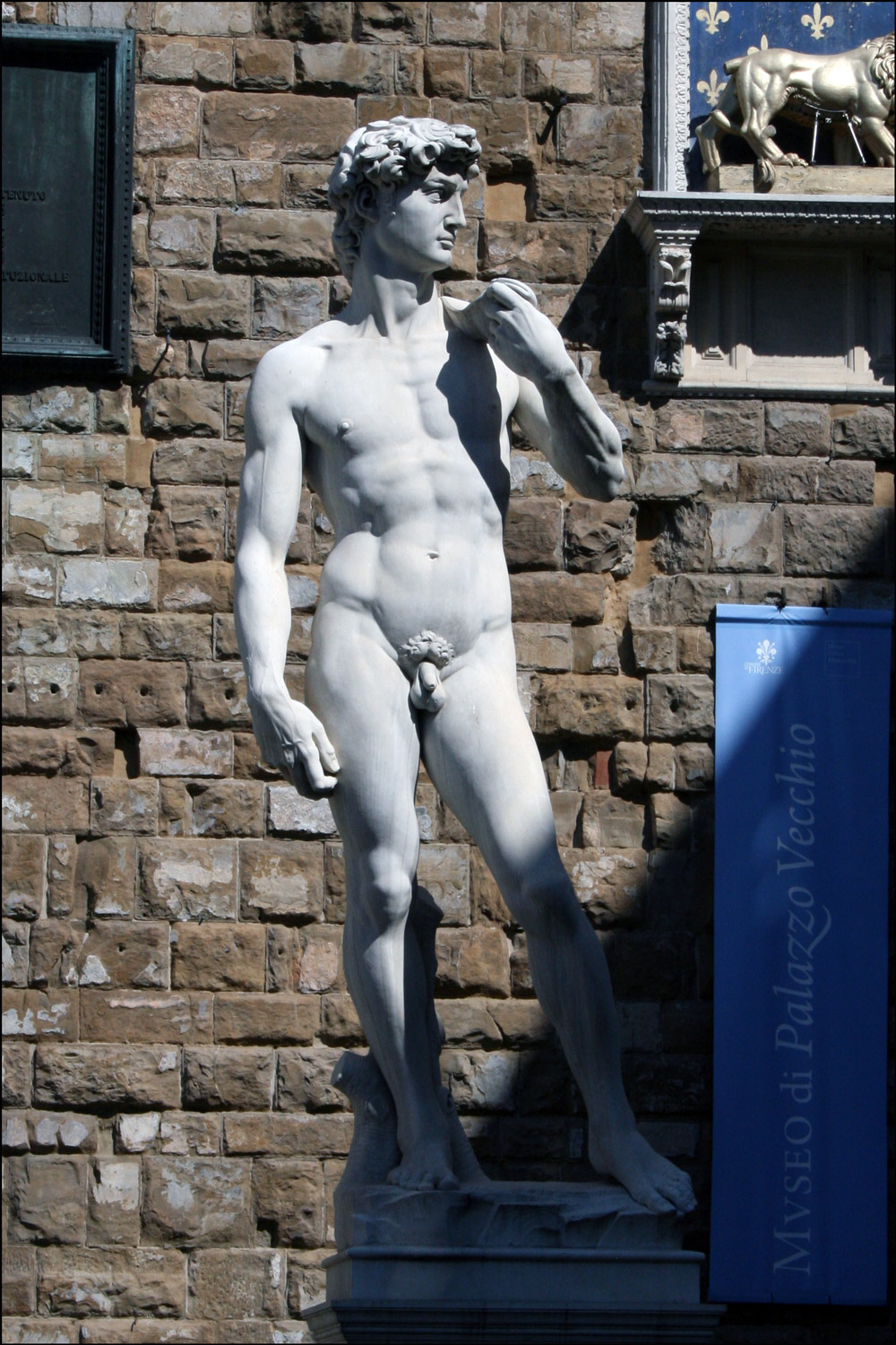 Copy of Michelangelo's David
