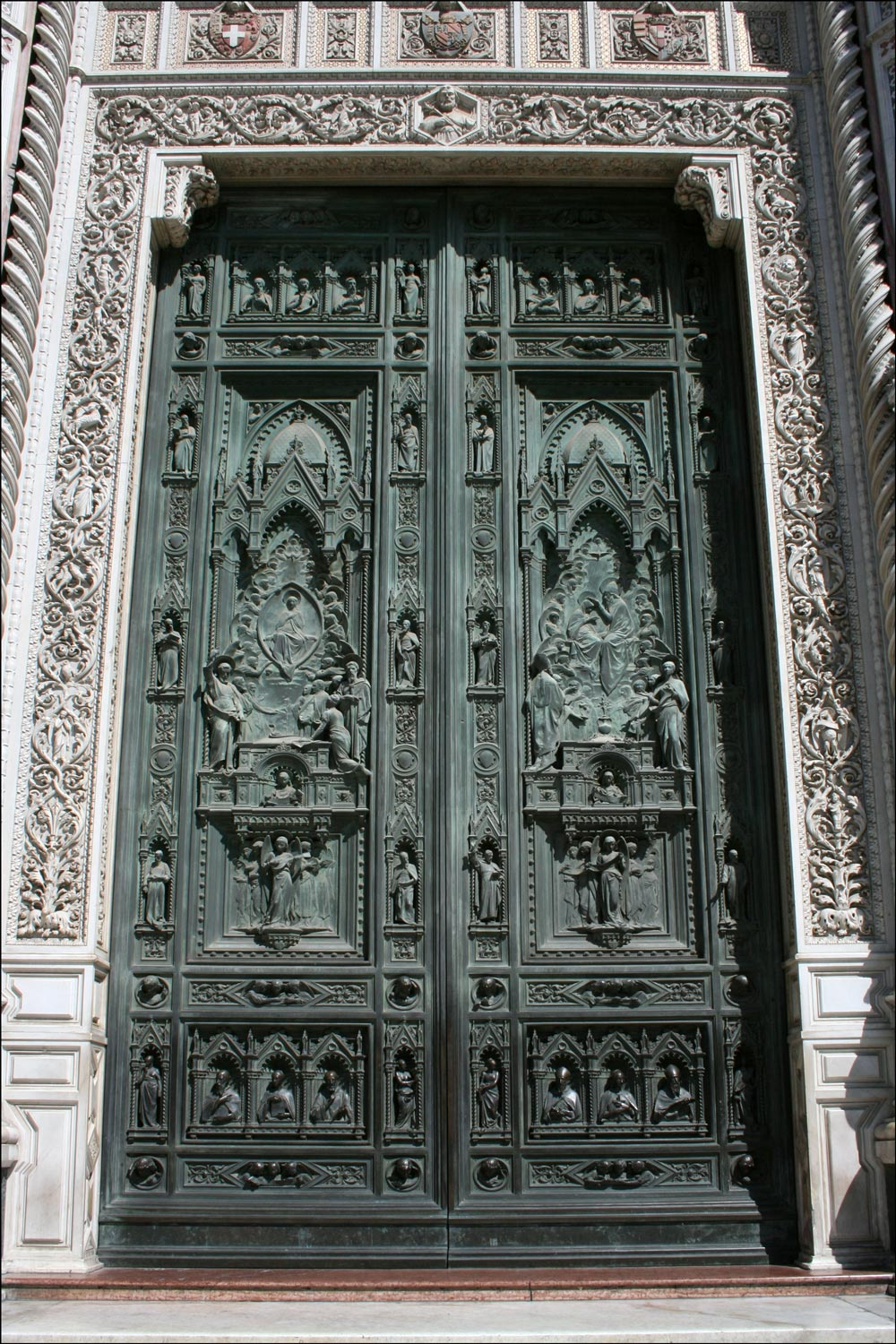 Center Bronze Door of the Basilica di Santa Maria del Fiore