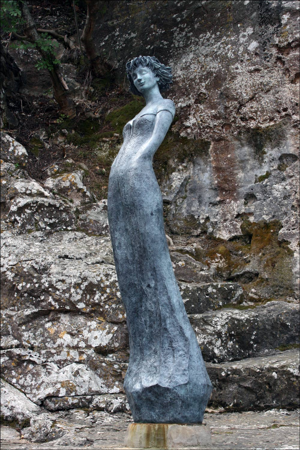 Sculpture of Marie by Jean-Philippe Richard