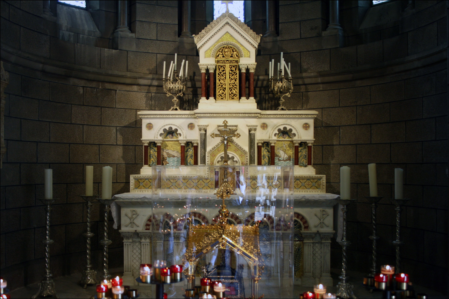 Main Altar in the Monaco Cathedral