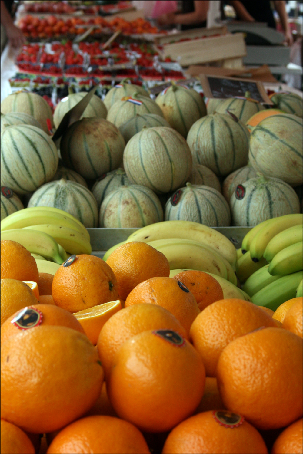 Fruit in the Outdoor Market in Nice