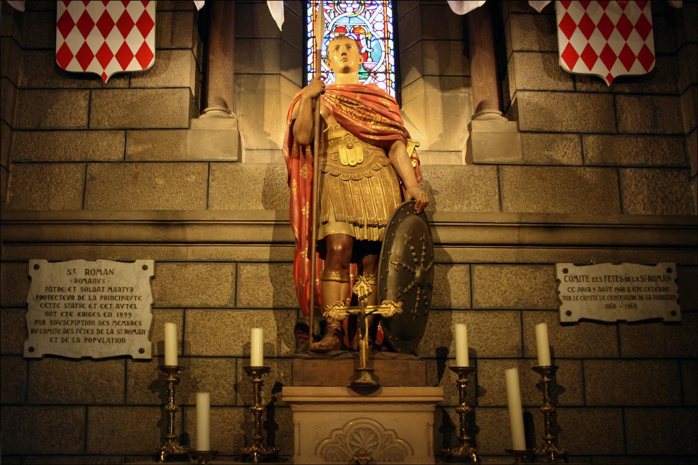 Altar of Saint Romanus Ostiarius