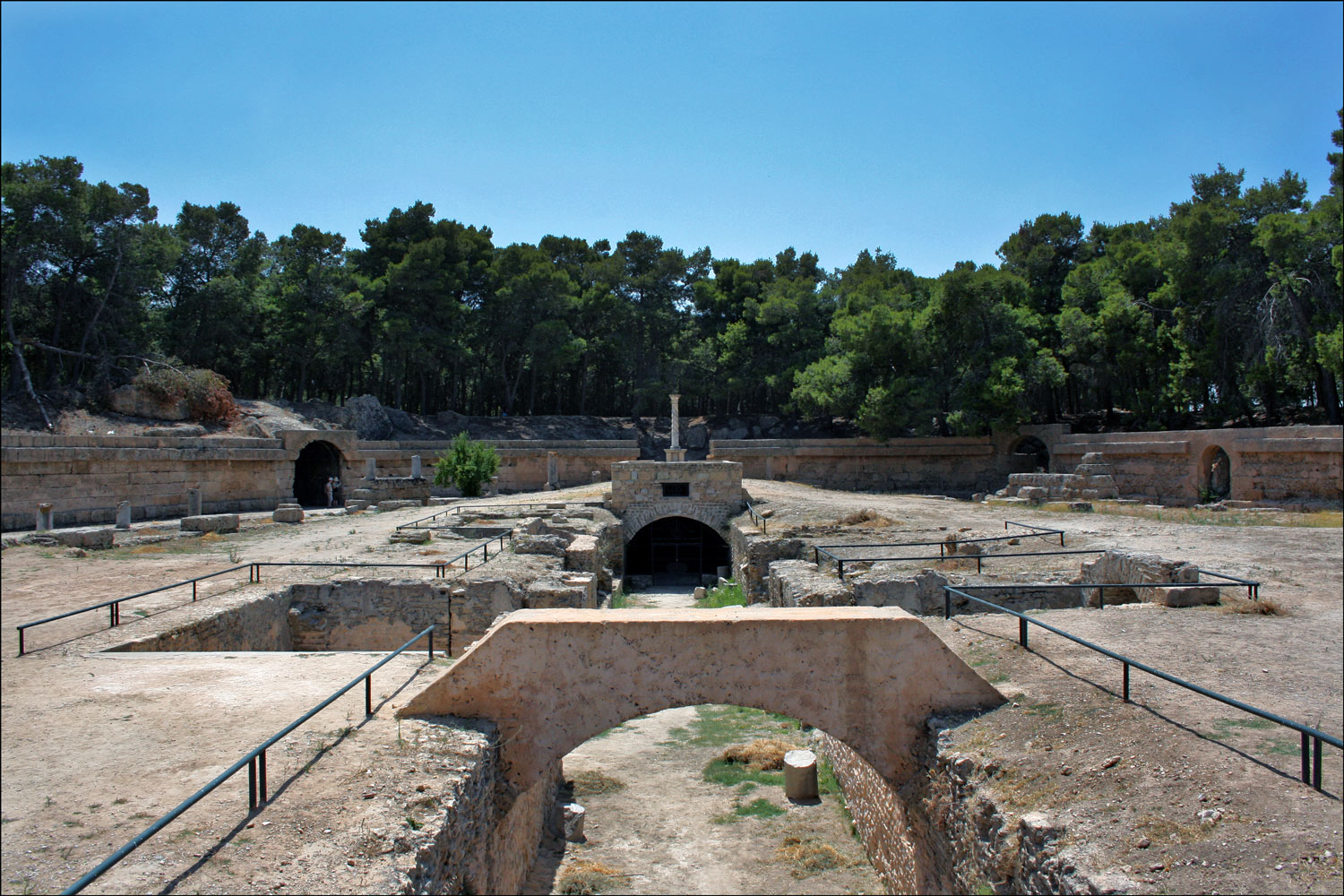 The Roman Amphitheater in Carthage