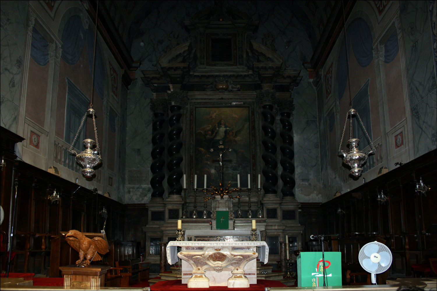 Main Altar of the Cathedral of the Assumption
