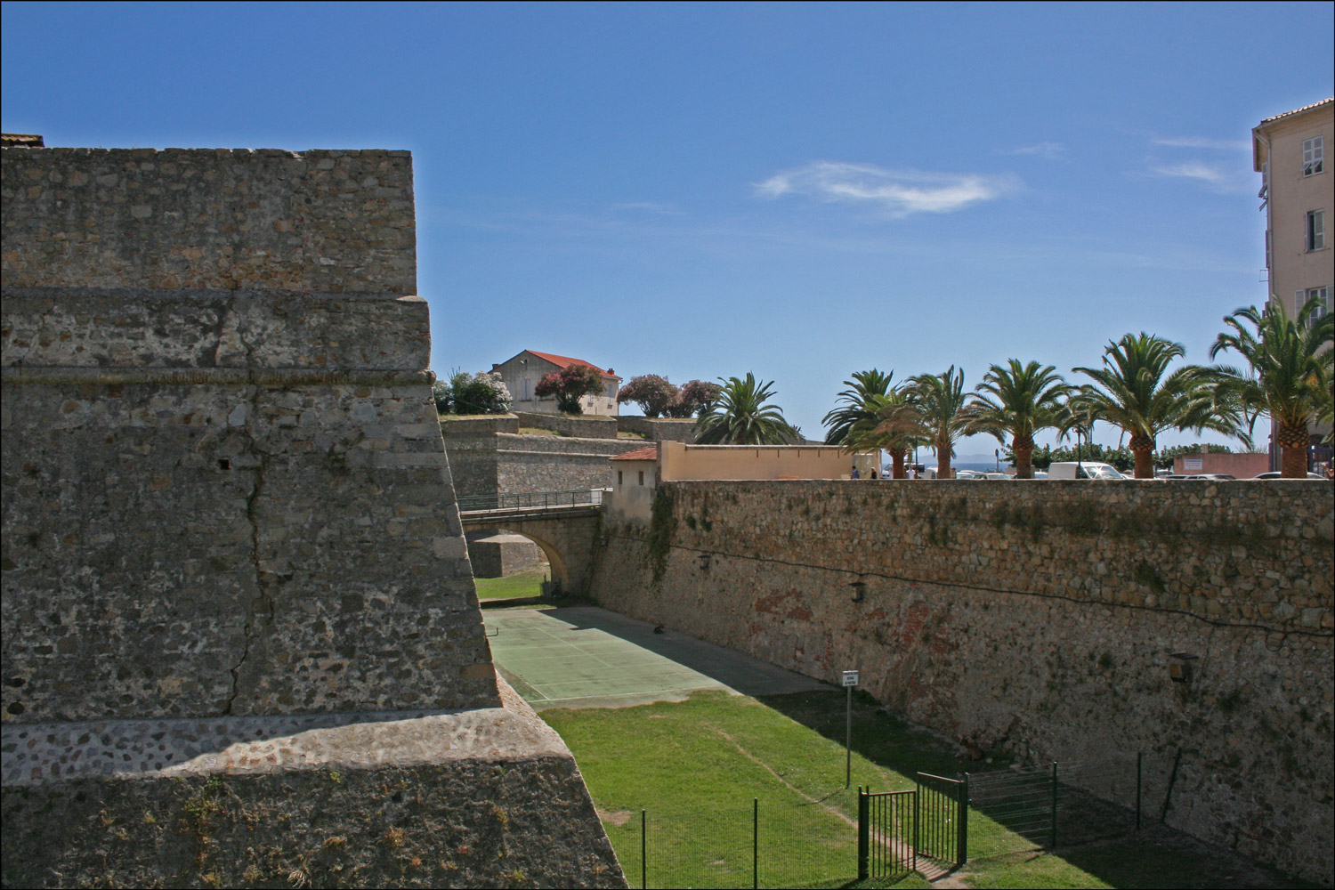 The Citadel in Ajaccio
