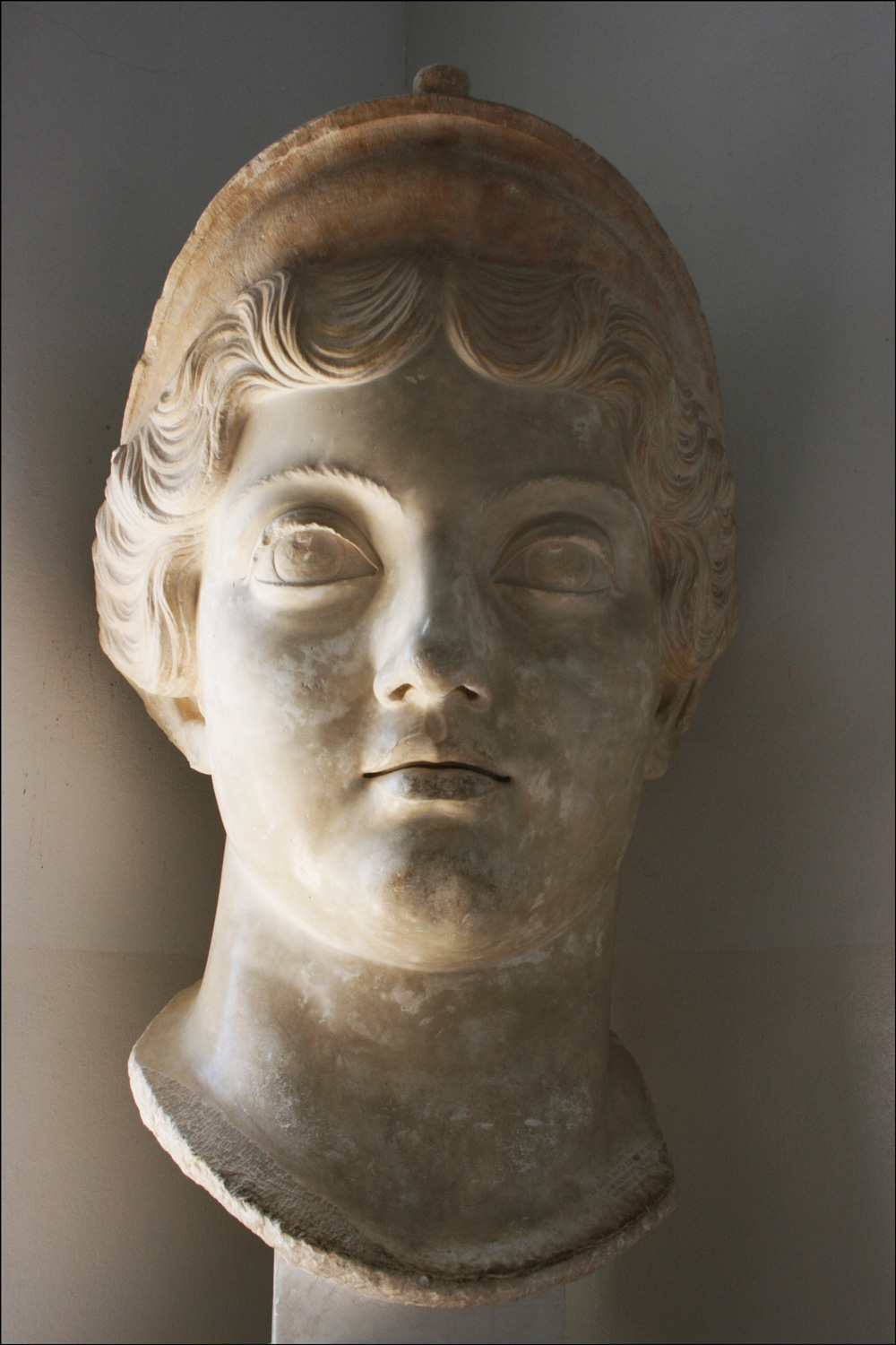 Colassal Head of a Princess Antoine