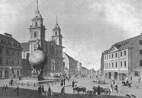 Holy Cross Church before 1828