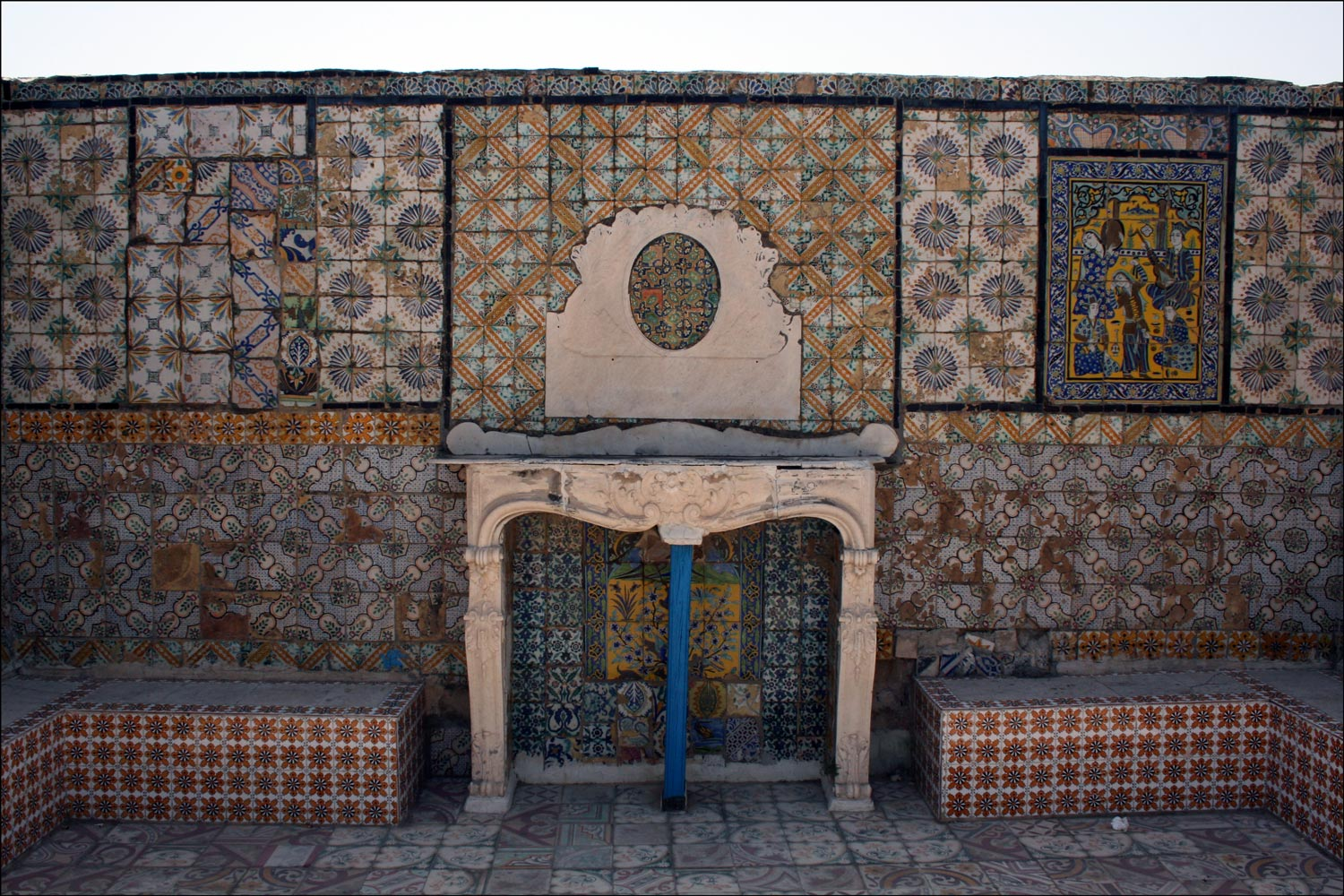 Tiled Rooftop in the Medina