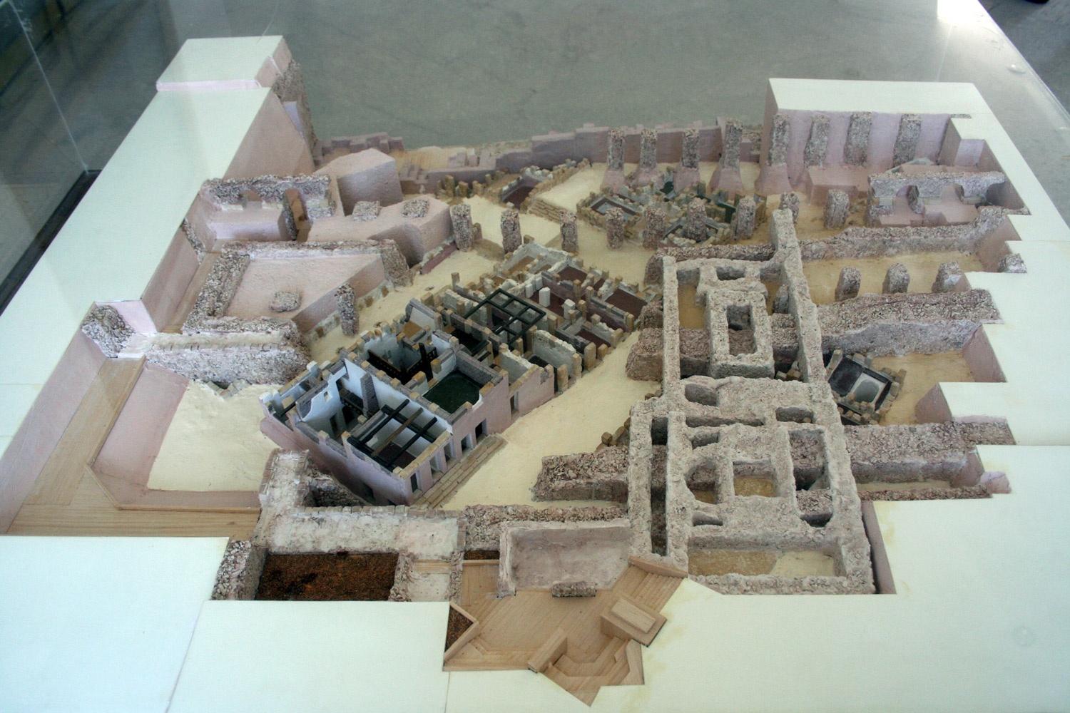 Model of the Punic Quarter of Bursa