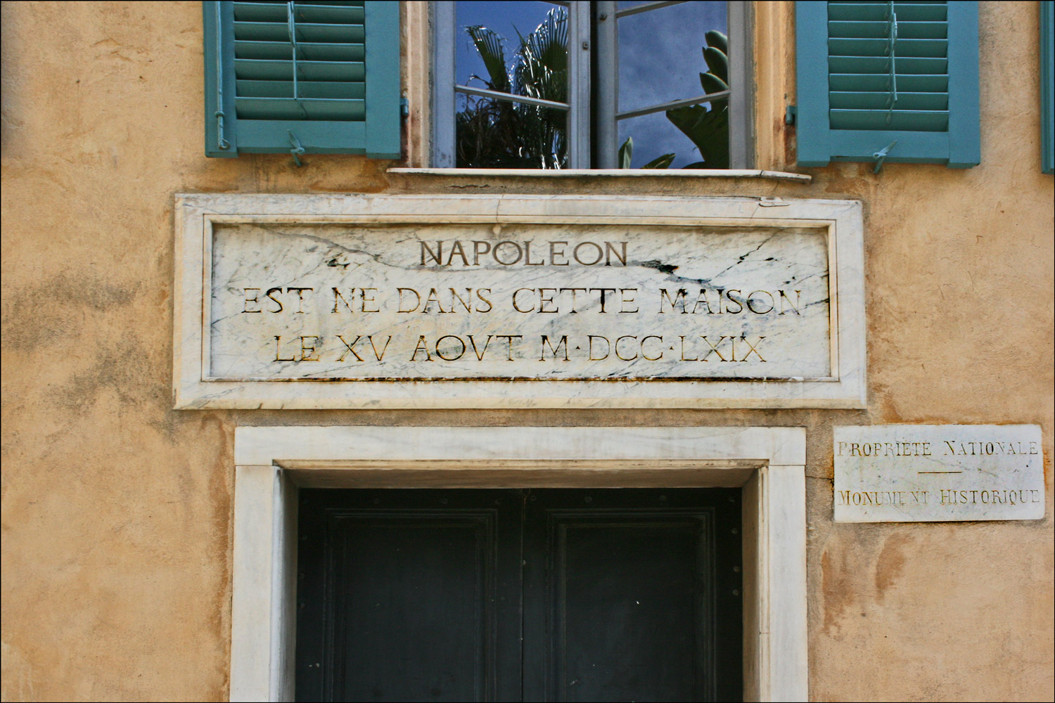 Doorway at Napoleon's Birthplace
