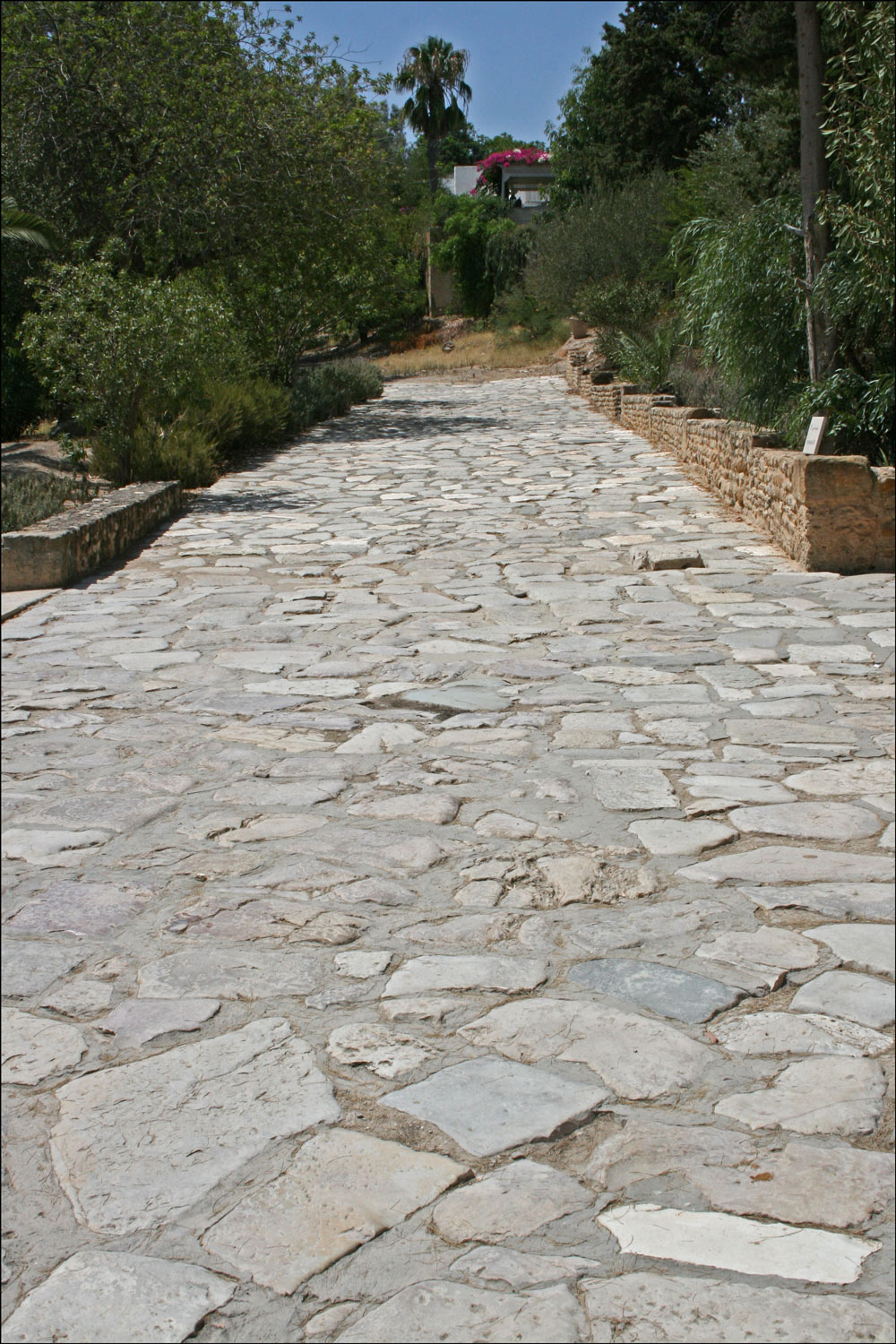Roman Road to the Antonine Baths