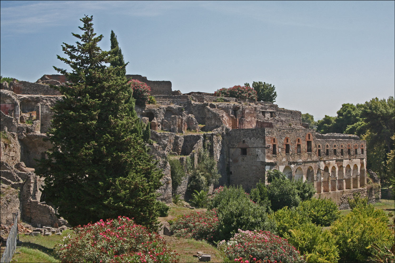Rear of the Sarno Baths