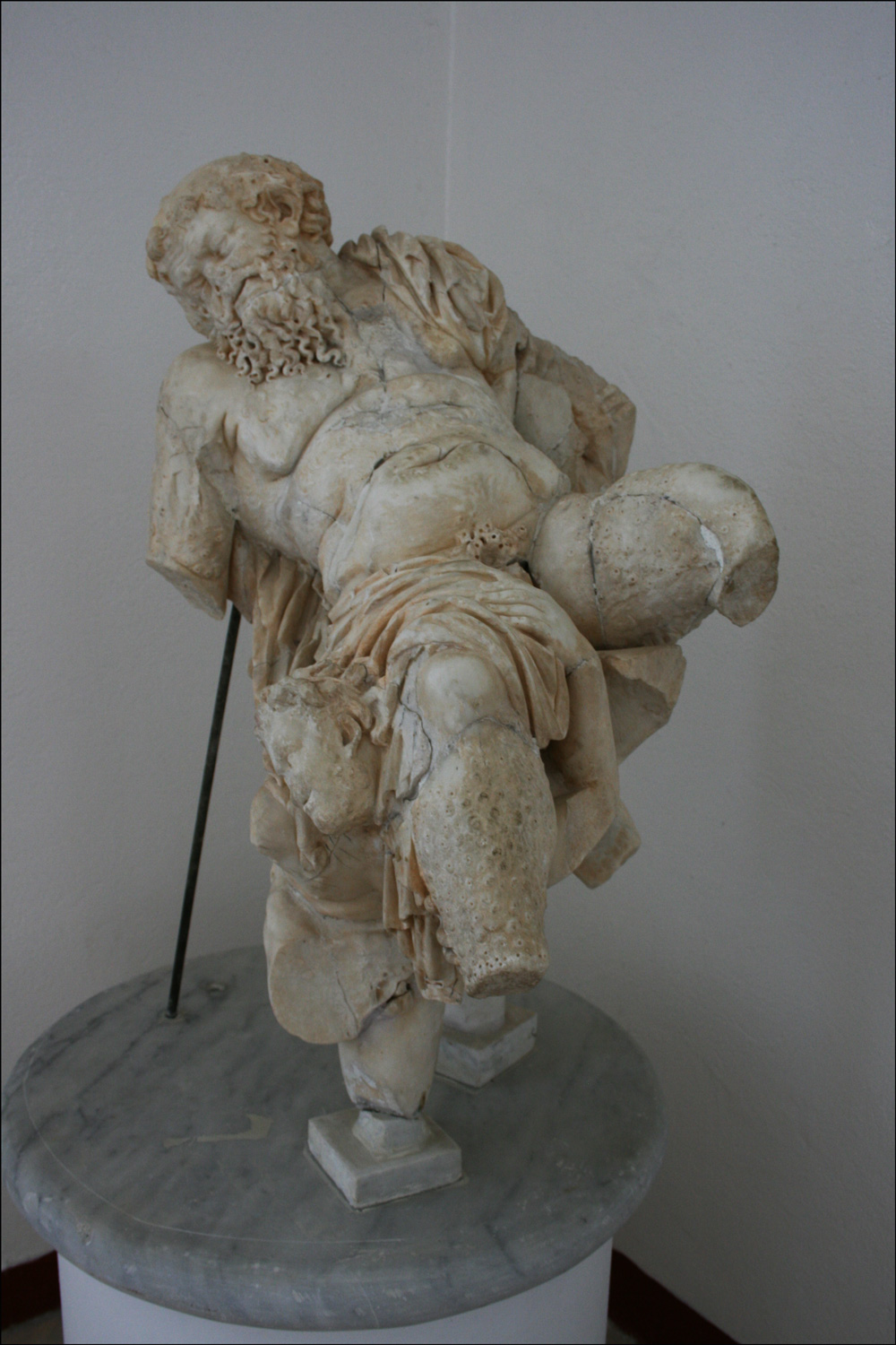 Silenus Supported by Four Satyrs