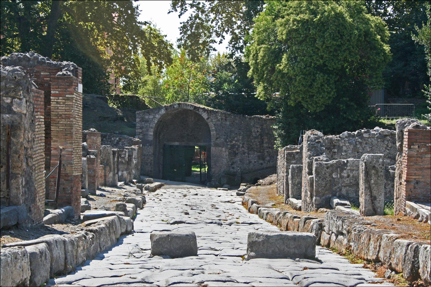 Stabian Gate and Via Stabiana