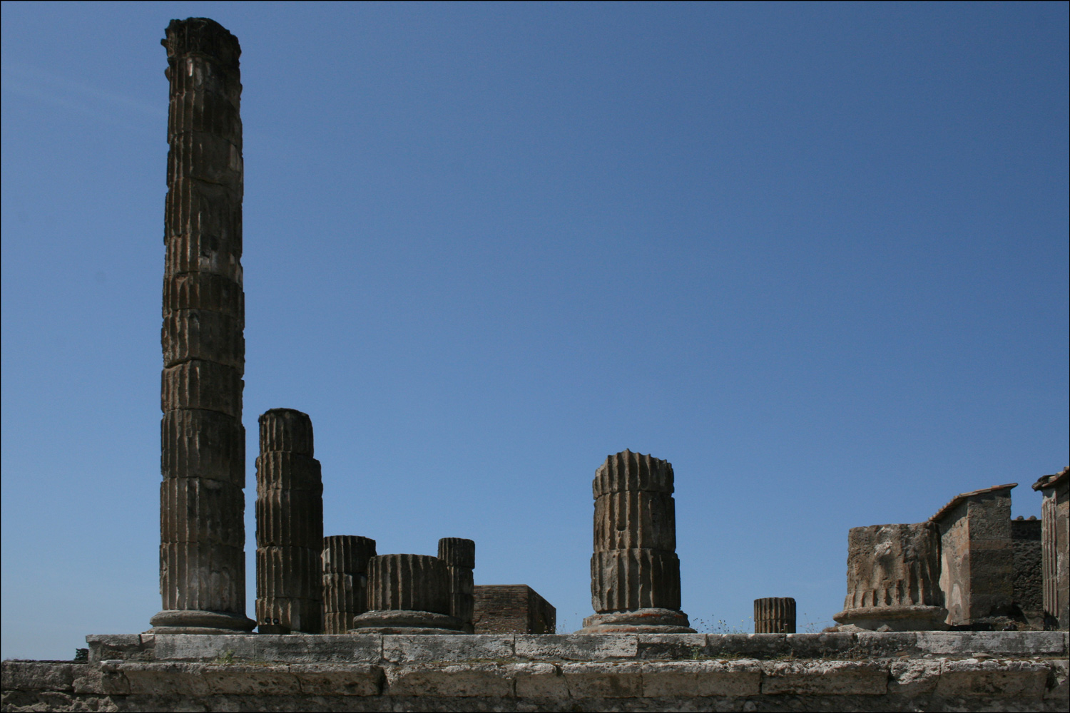 Temple of Jupiter from the East