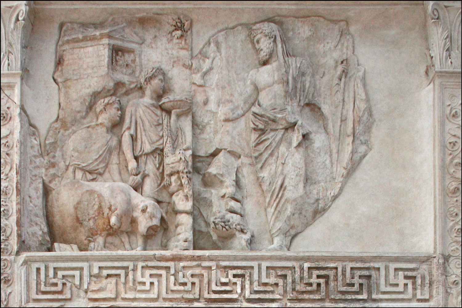 Aeneas Panel on the Ara Pacis Augustae