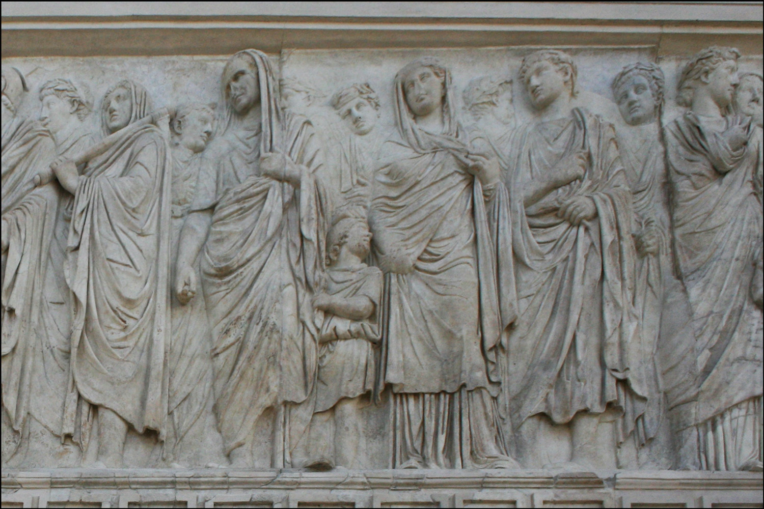 Detail of Agrippa Group on the Ara Pacis Augustae