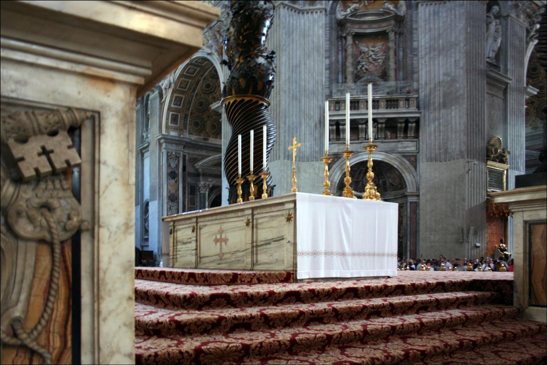 The Papal Altar
