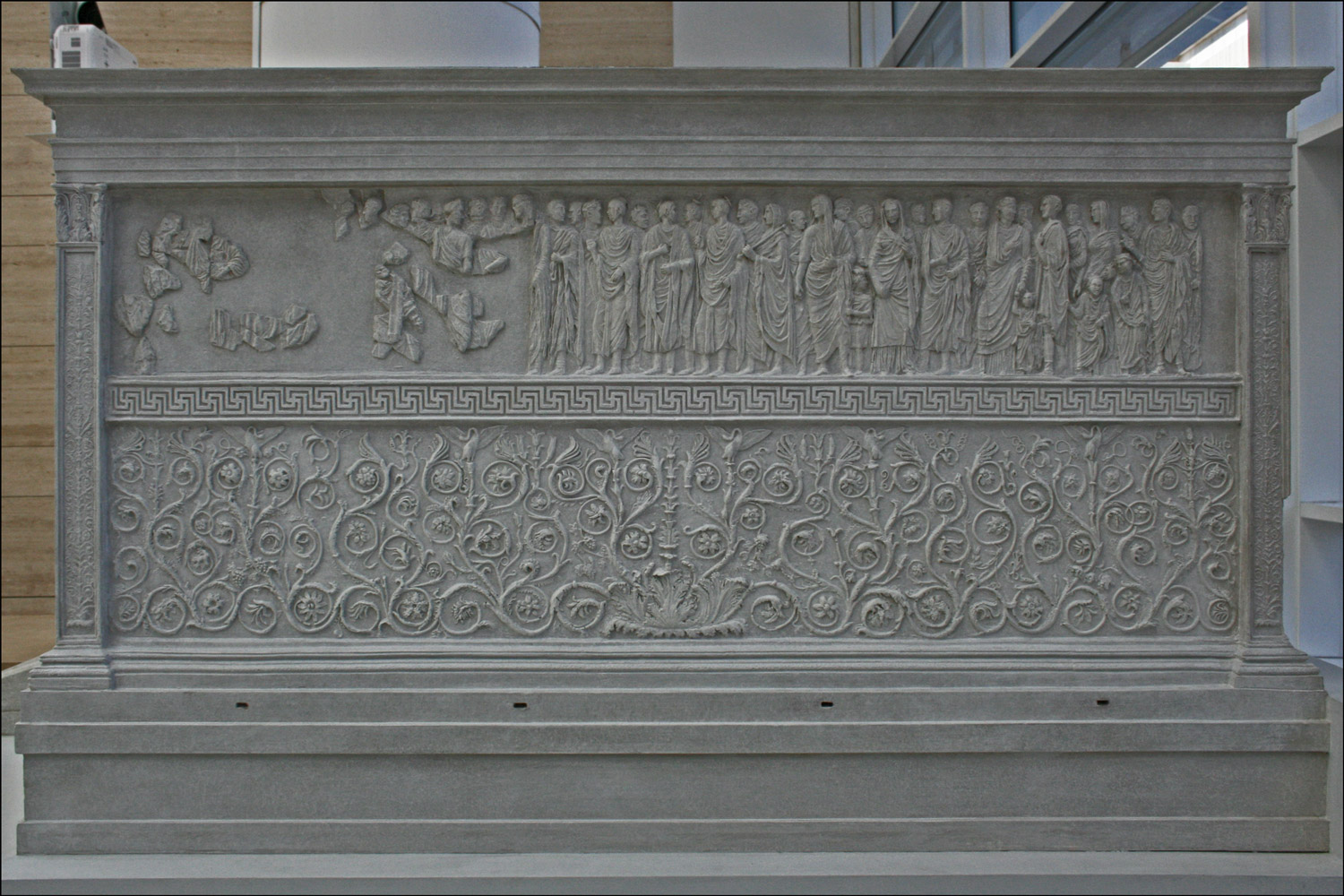 Ara Pacis Augustae - Model of South Wall