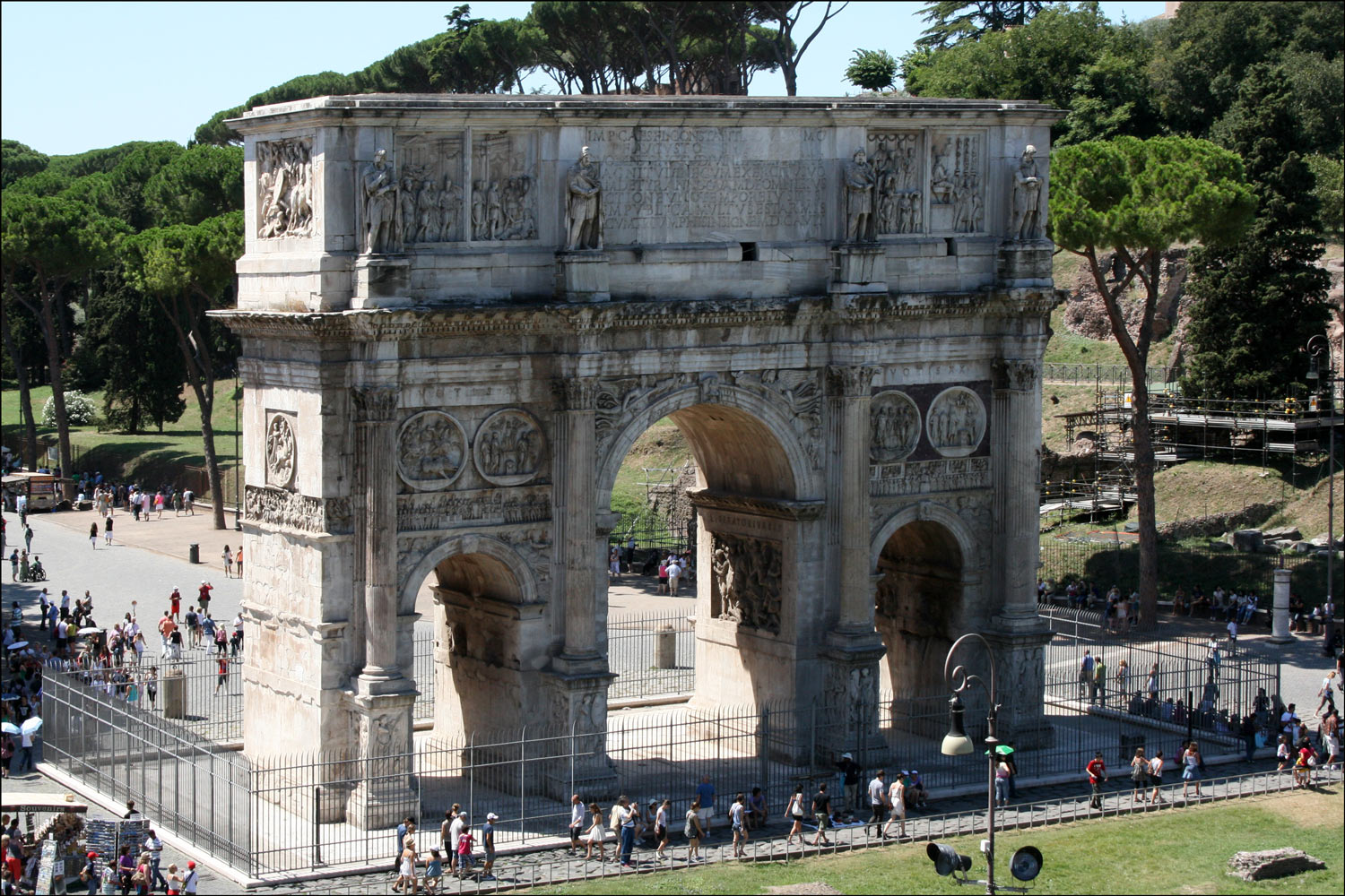 North Face of the Arch of Constantine