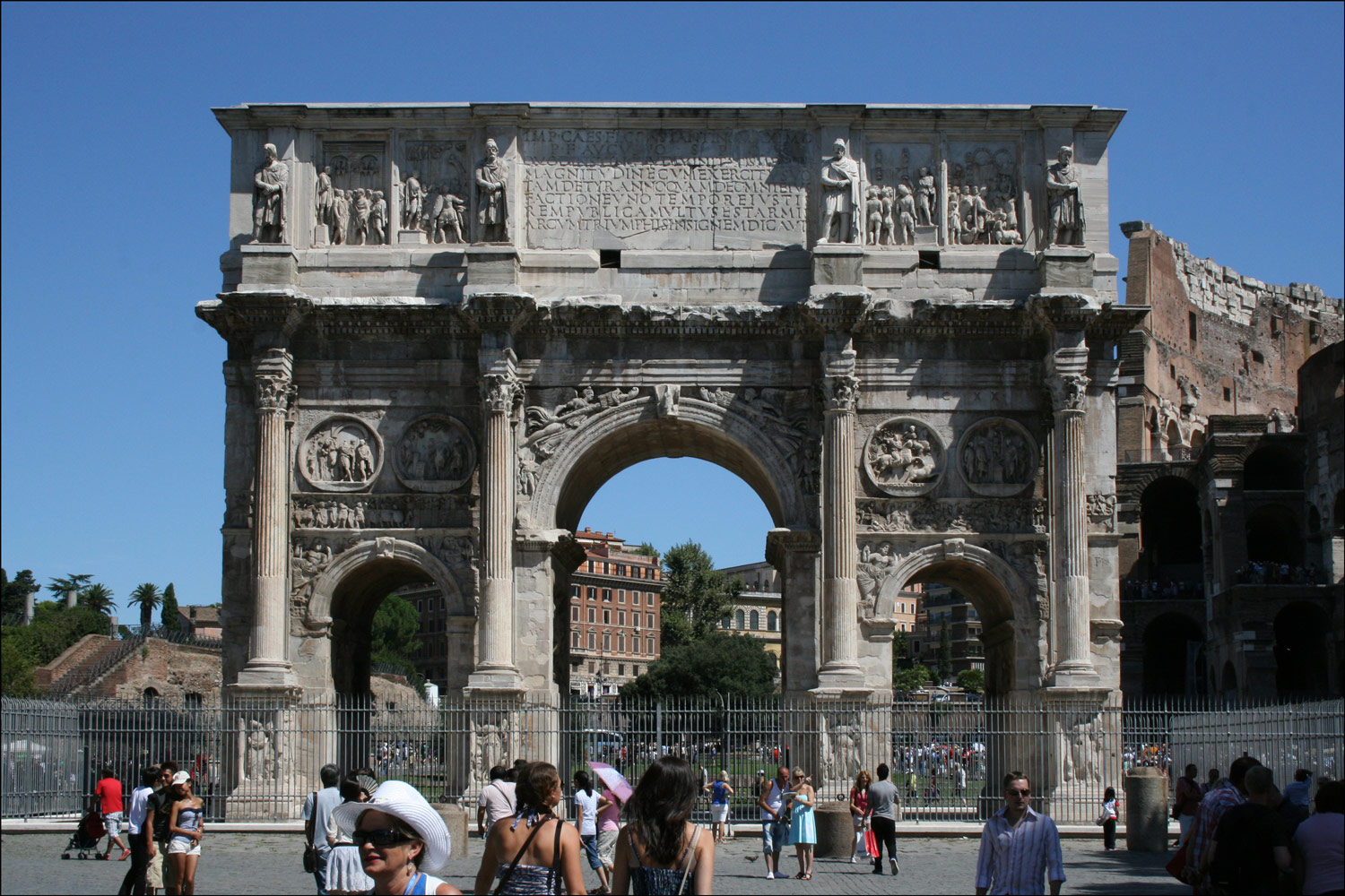 South Face of the Arch of Constantine