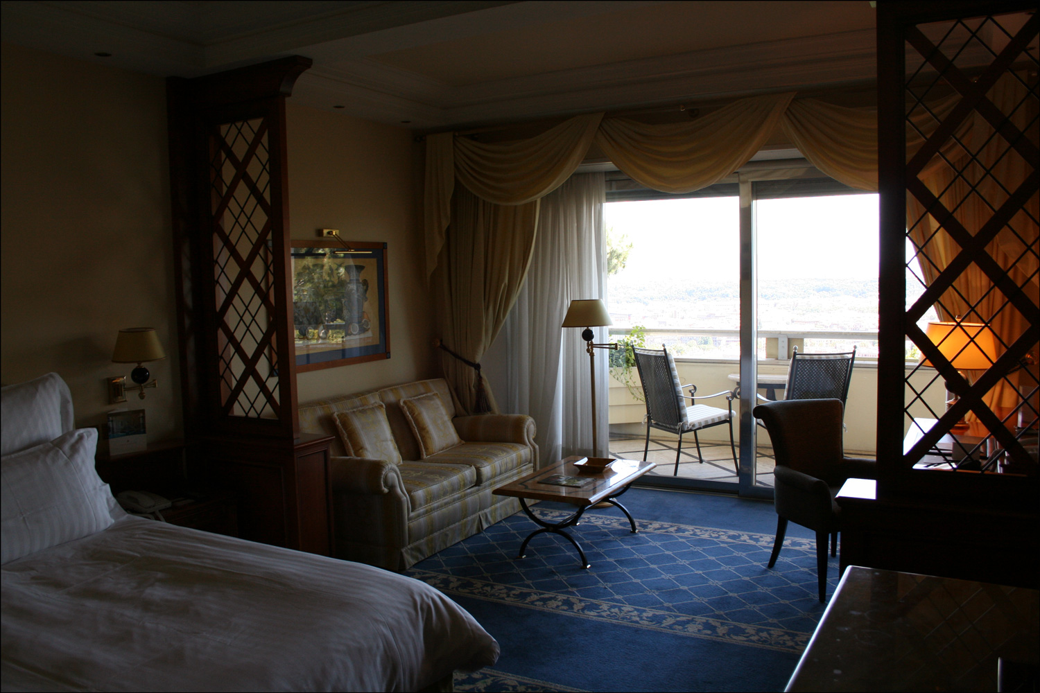 Room in the Rome Cavalieri Hotel - Window