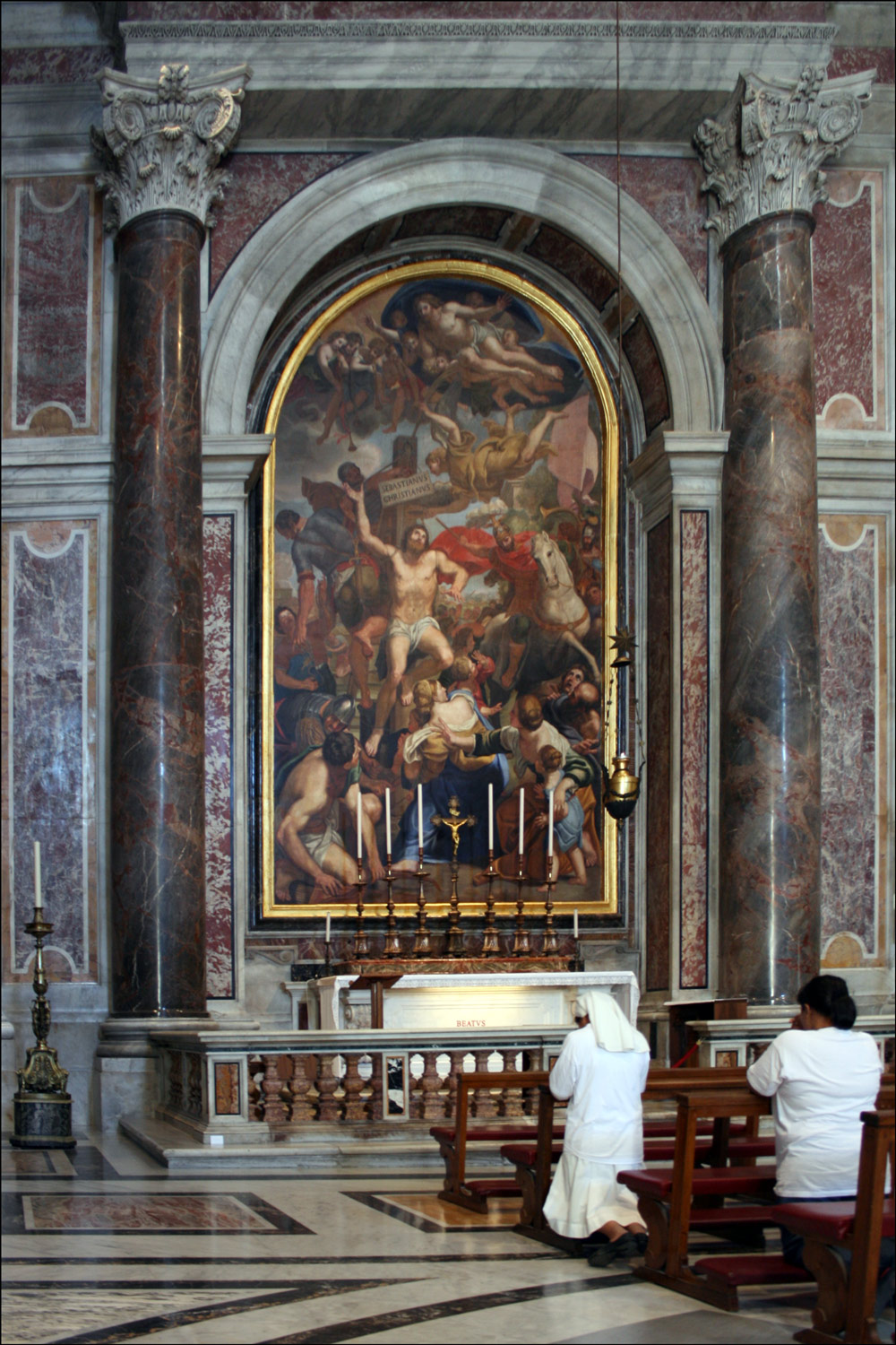 The Chapel of Saint Sebastian