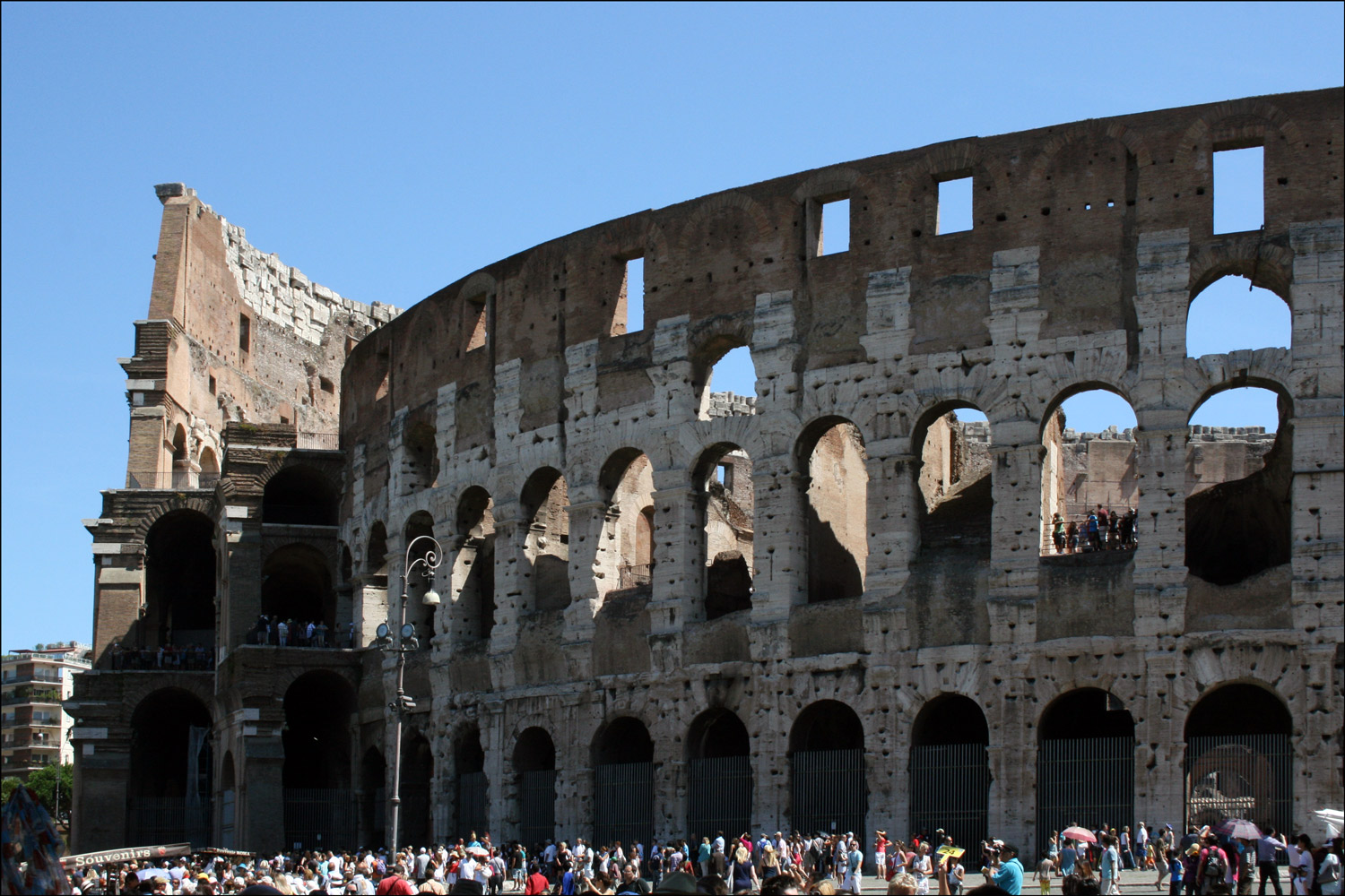 The Exterior of the Colosseum