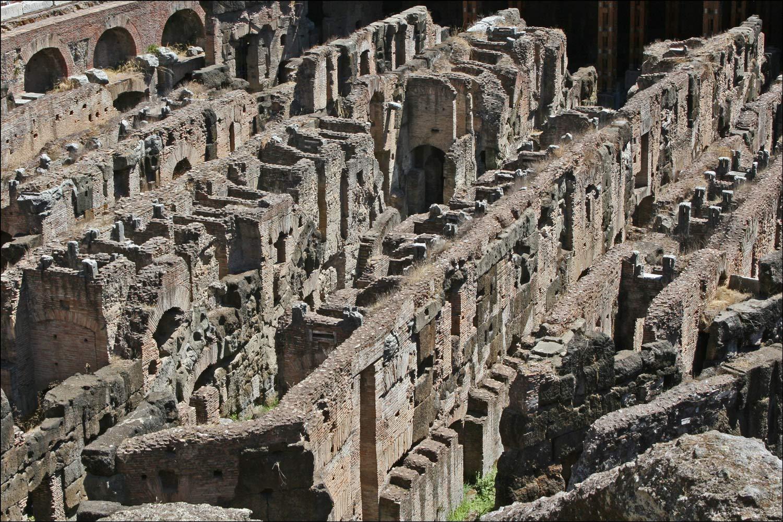 Colosseum Interior - Hypogeum