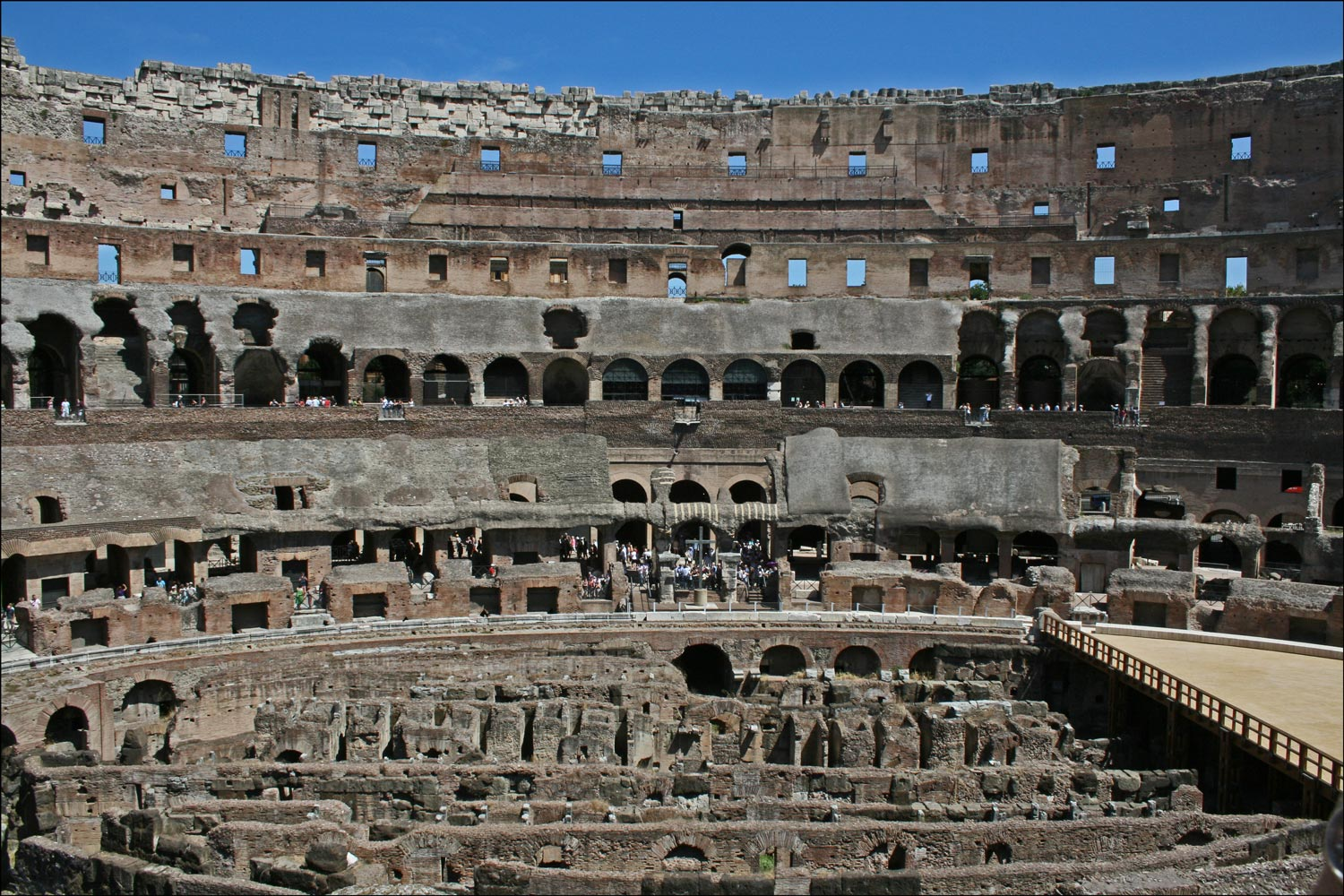 Colosseum Interior - North