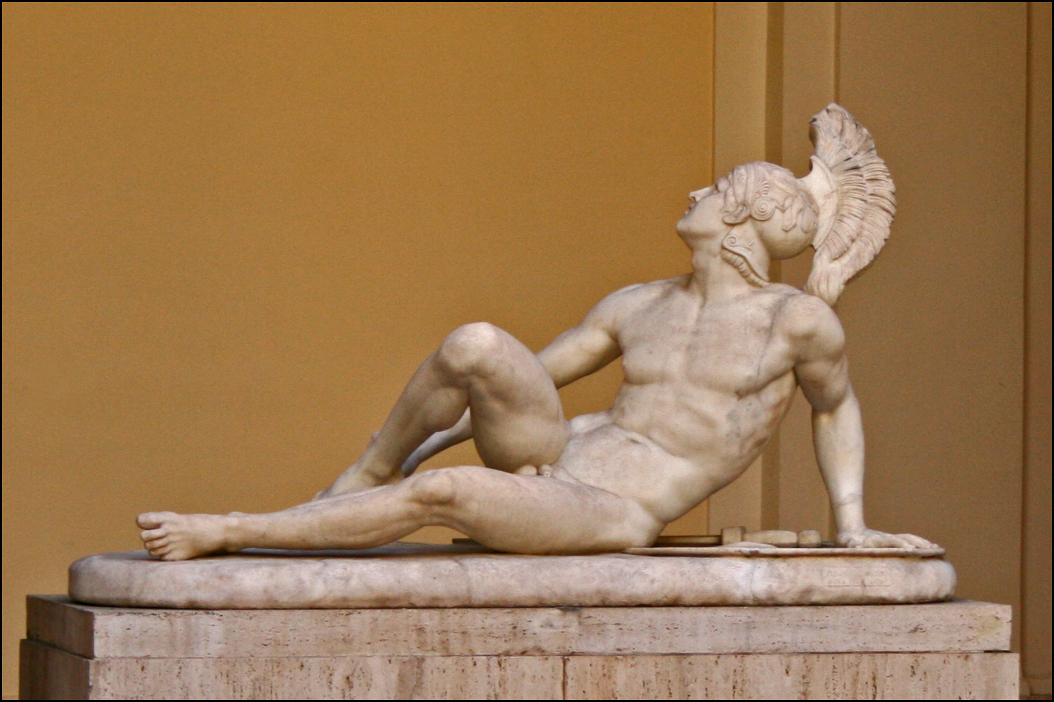 Courtyard Sculpture in Rome