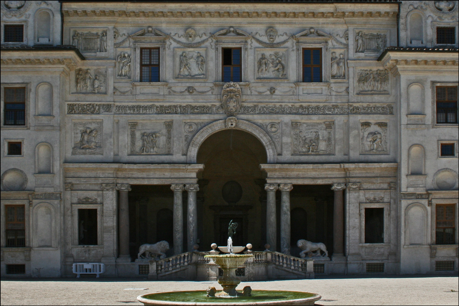 The Loggia of Villa Medici