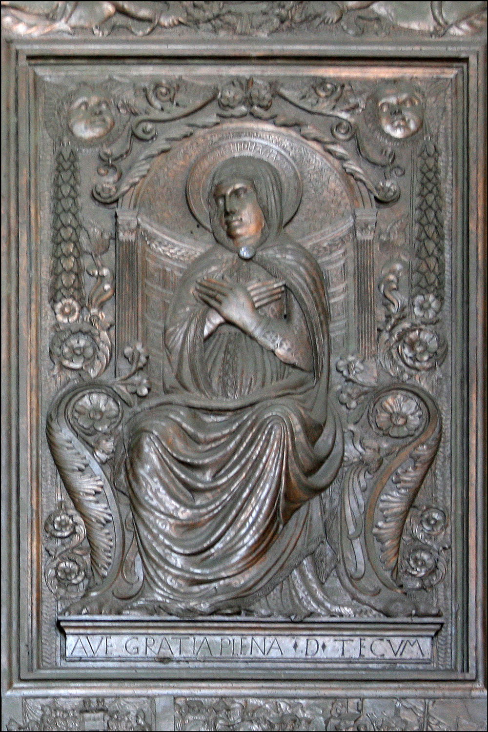 Mary Enthroned