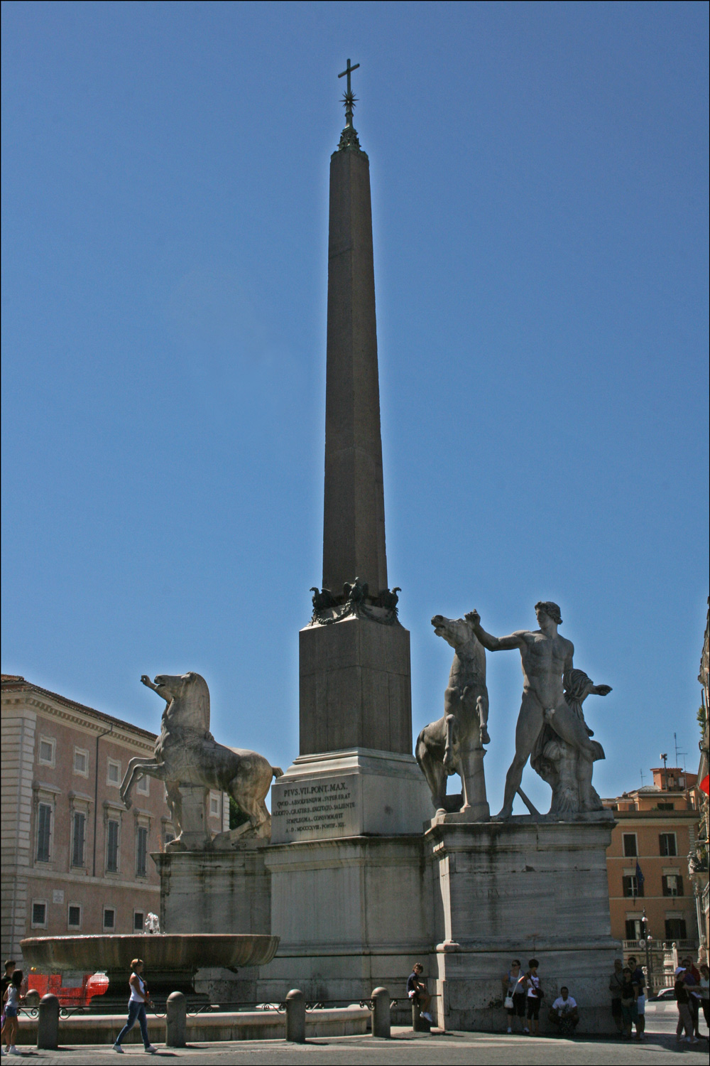 The Obelisk at Piazza del Quirinale