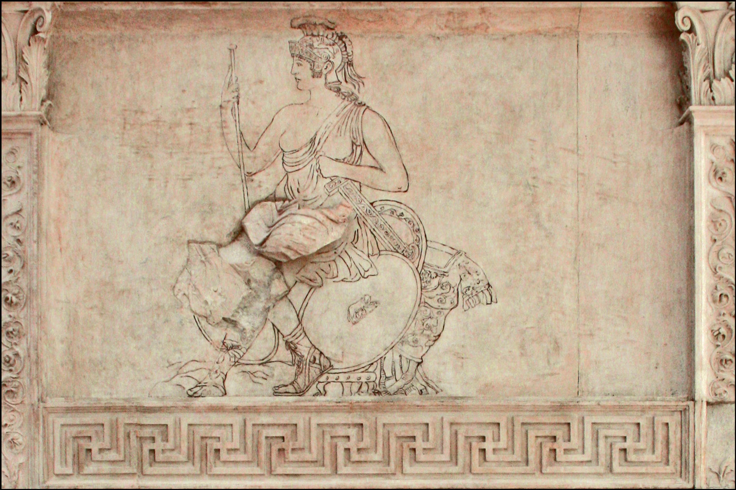 Roma Panel on the Ara Pacis Augustae