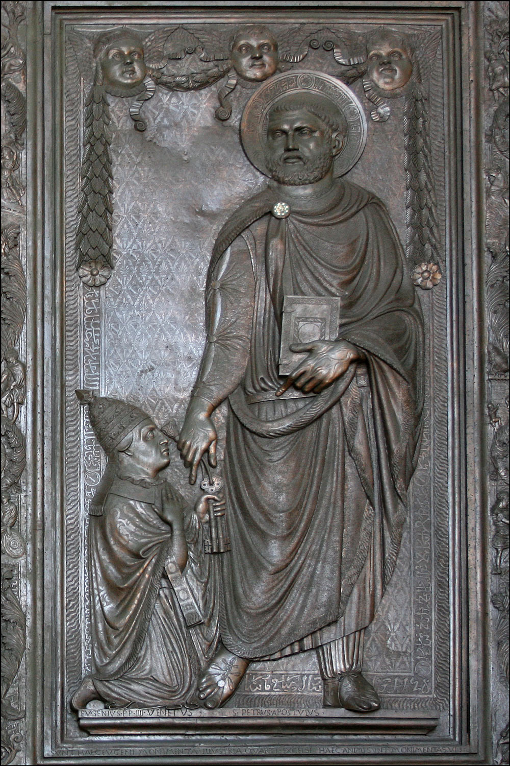 Saint Peter Giving the Keys to Pope Eugene IV