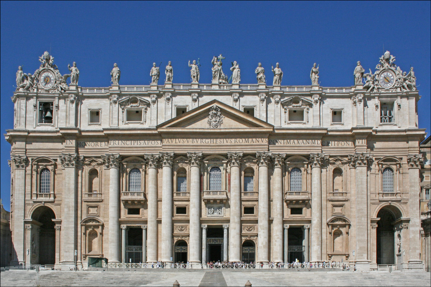 The Papal Basilica of Saint Peter