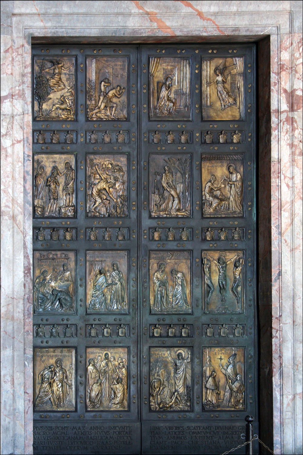 The Holy Door of the Papal Basilica of Saint Peter