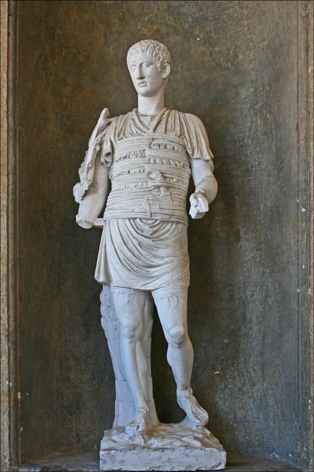 Roman Statue in the Loggia of Villa Medici