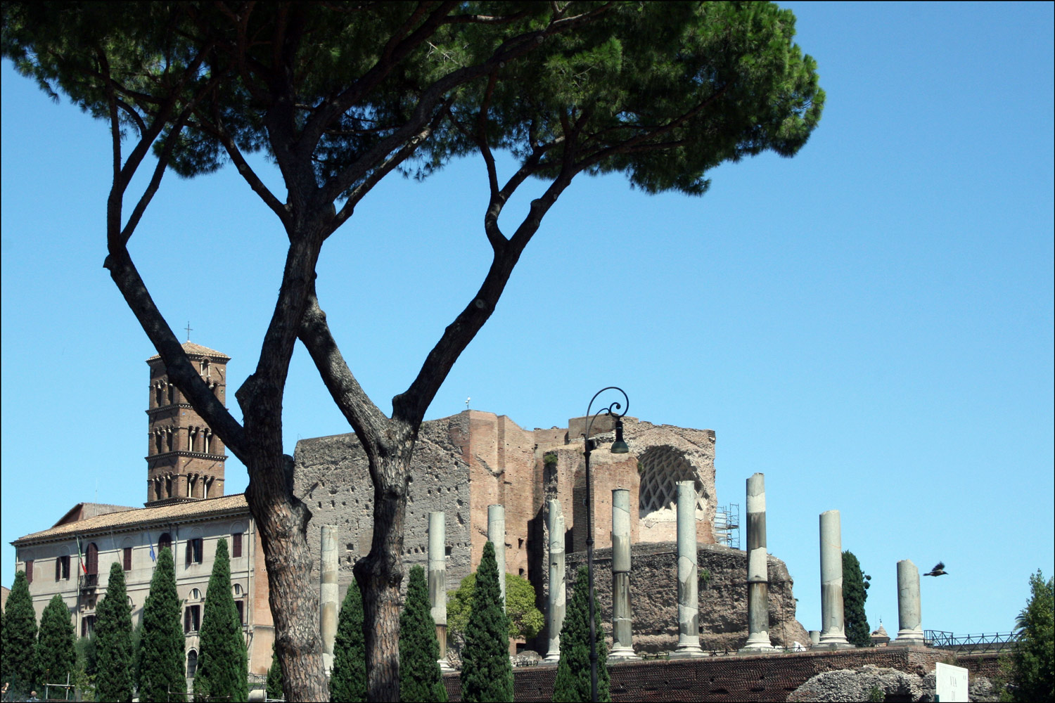 The Temple of Venus and Rome
