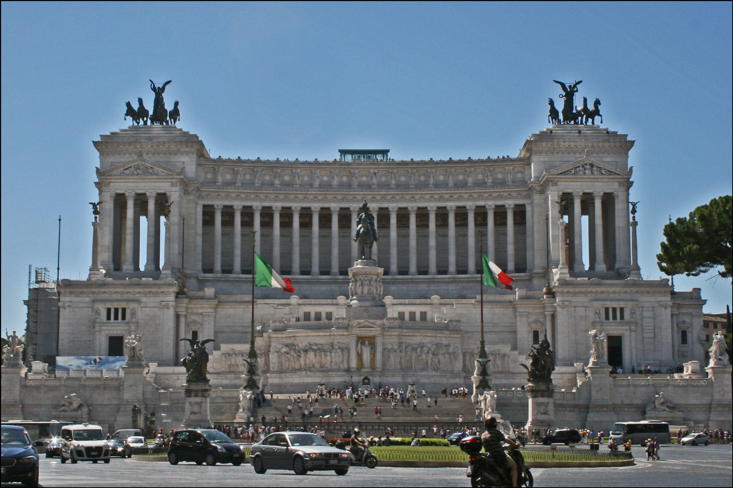 Monument to Victor Emmanuel II - Day