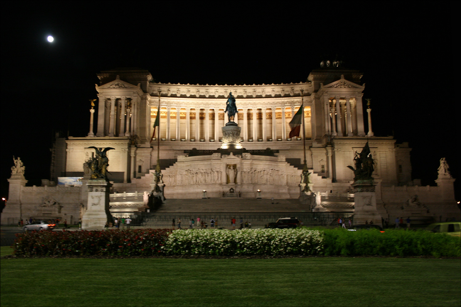 Monument to Victor Emmanuel II - Night