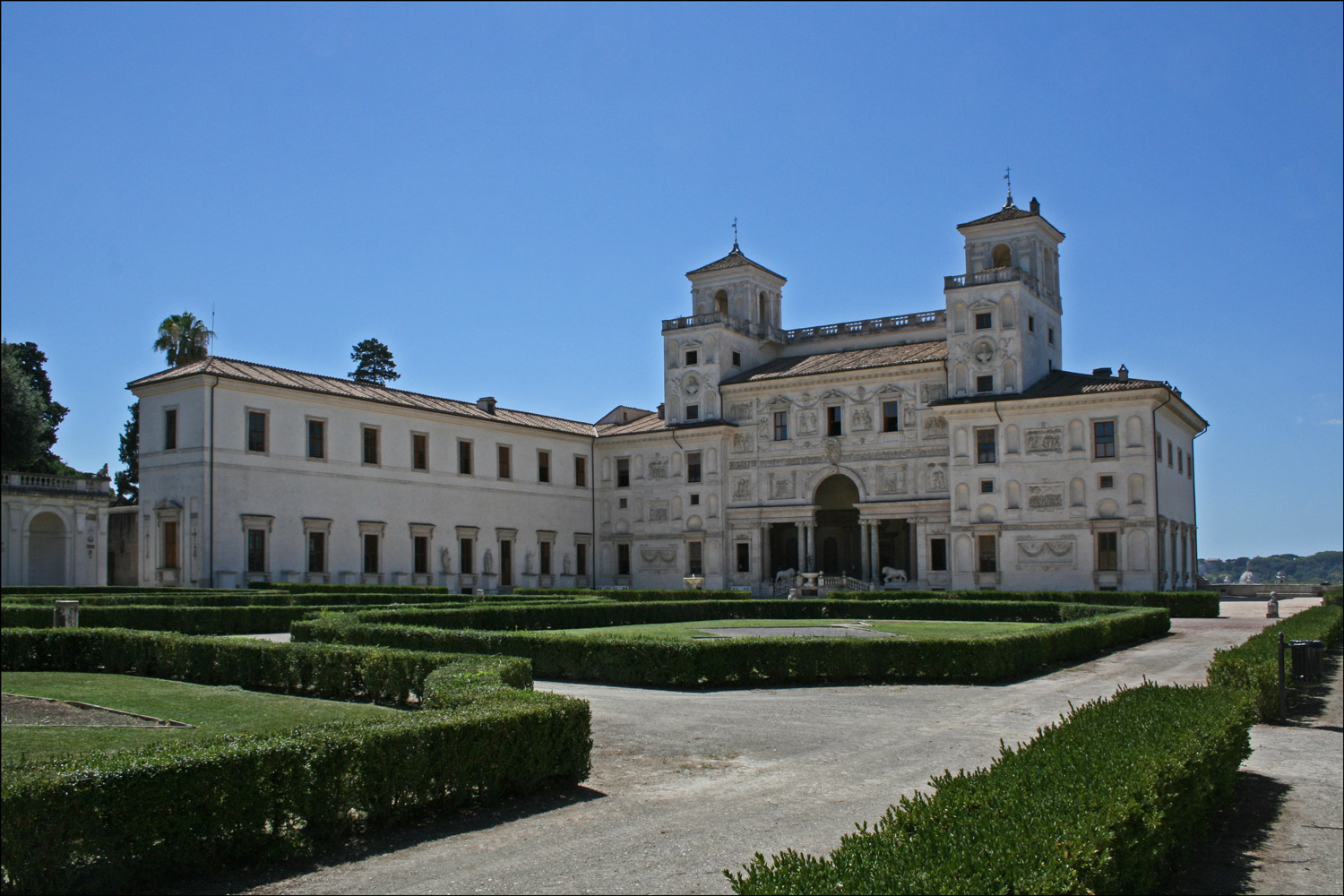Villa Medici from the Terrace