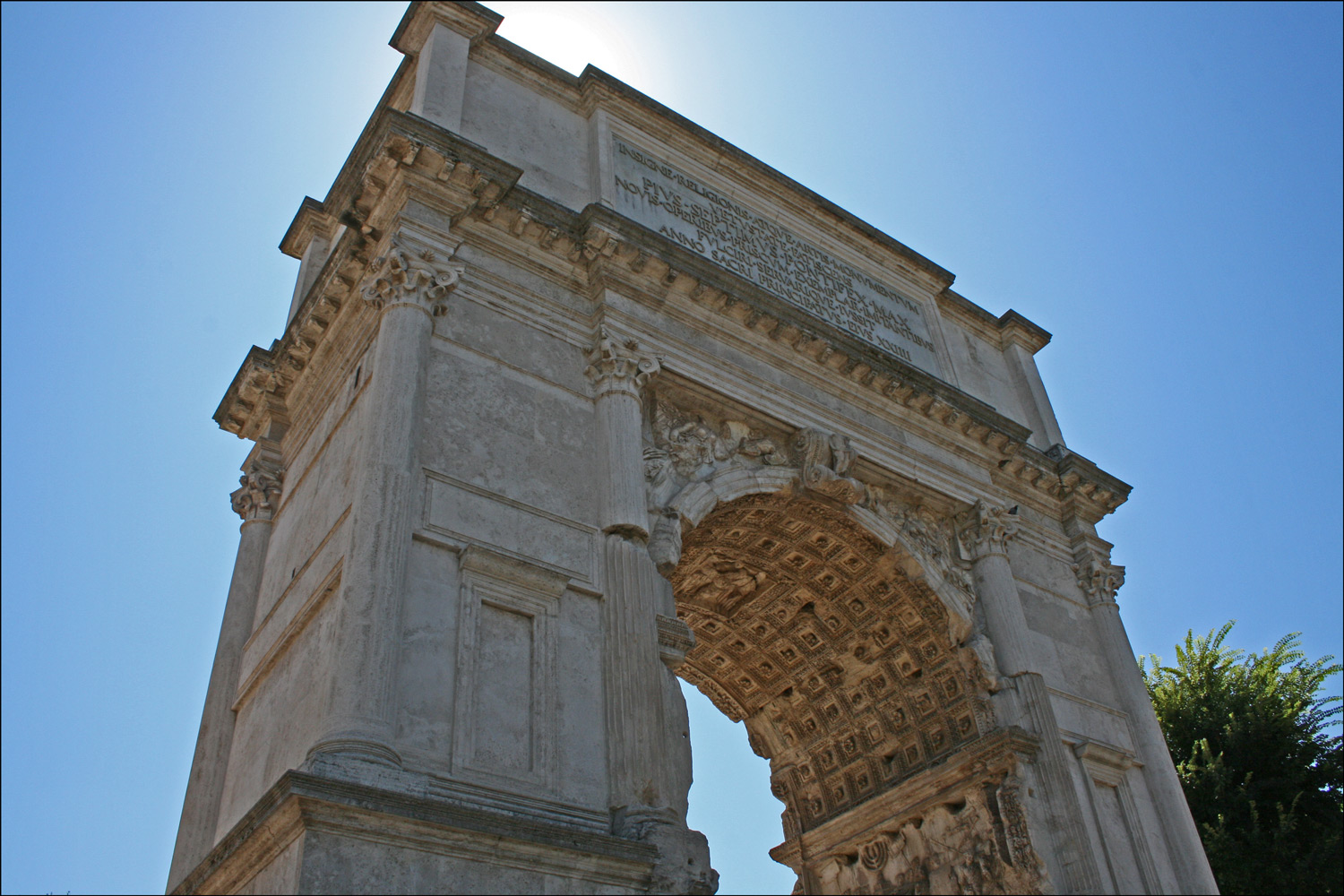 Deatil of the Arch of Titus