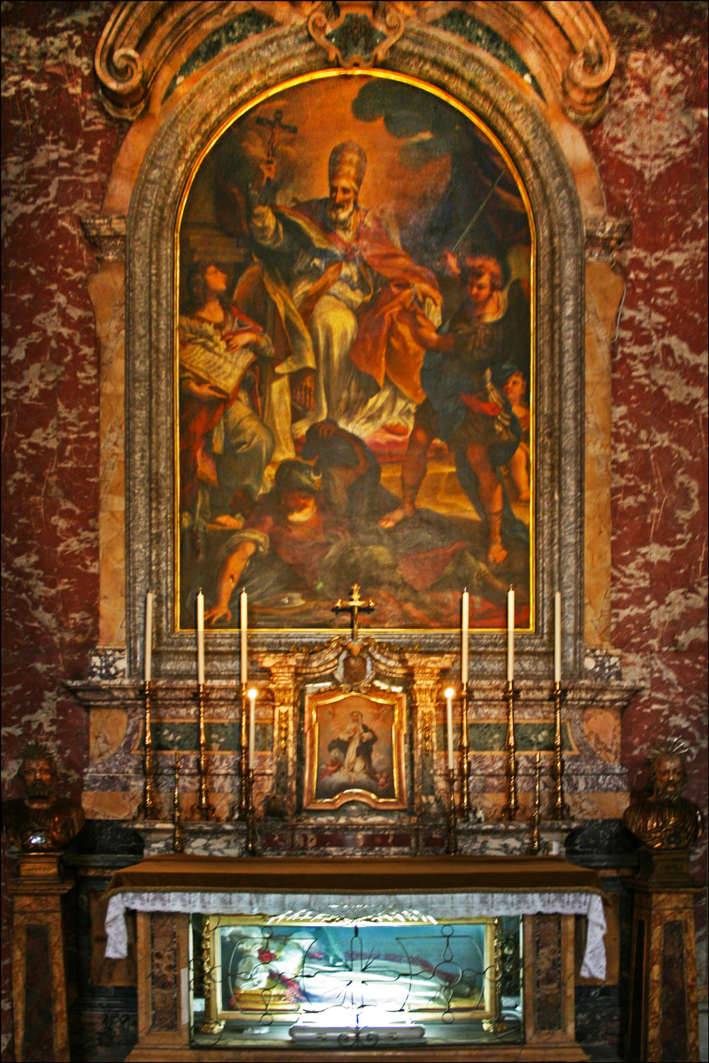 The Chapel of St. Pius V