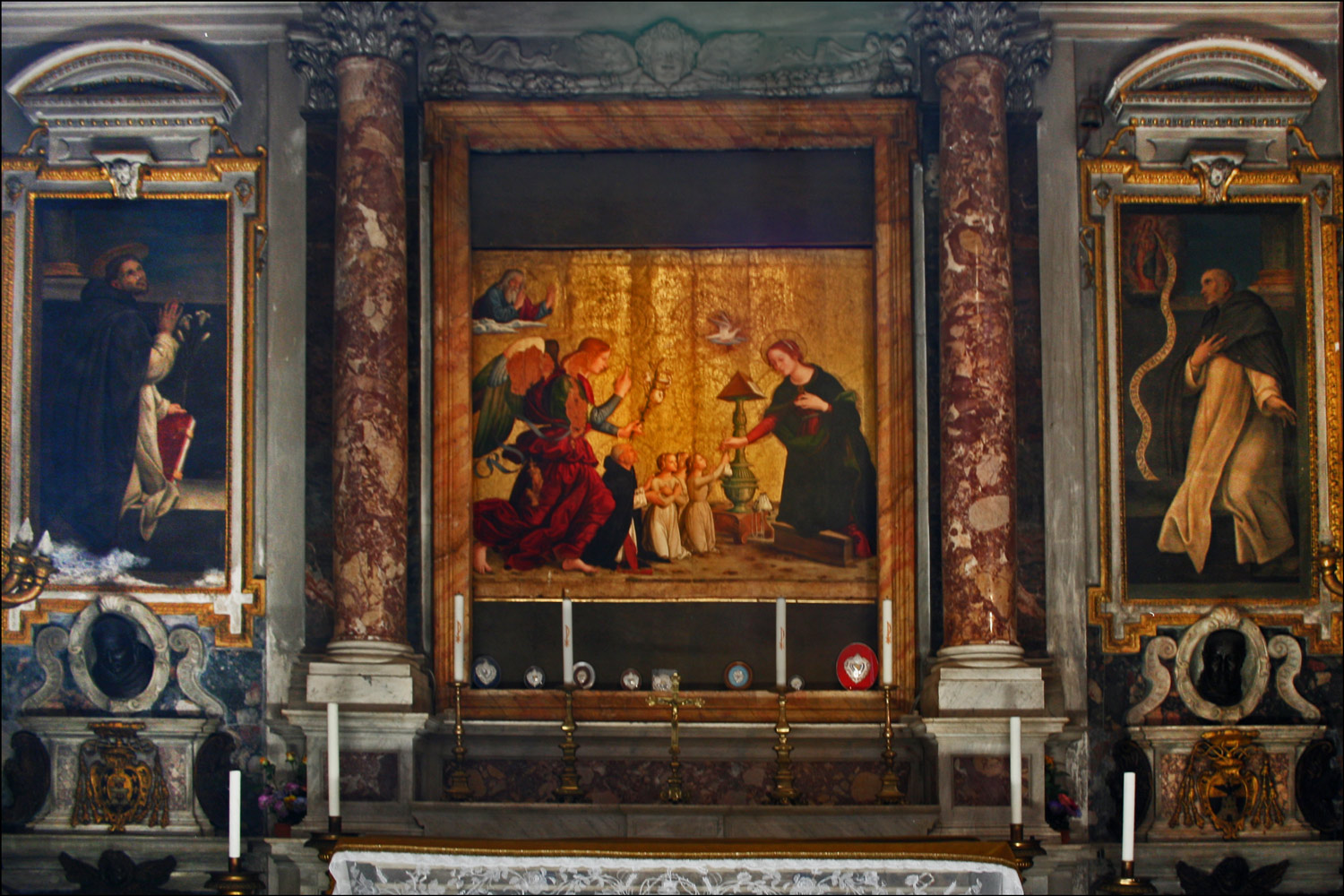 The Chapel of the Annunciation